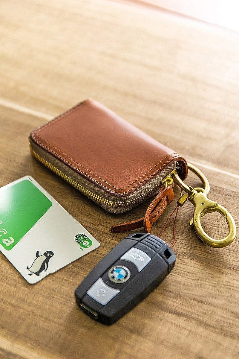 [コルボ] カード キーケース 電子キー 本革 スレート SLATE スレートシリーズ メンズ CO-8LC-9944 ブラウン CO-8LC-9944-91