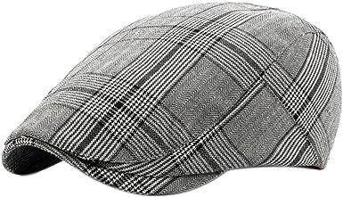 Leisial Sombreros Gorras Boinas Gorra de Béisbol Ocio Retro ...