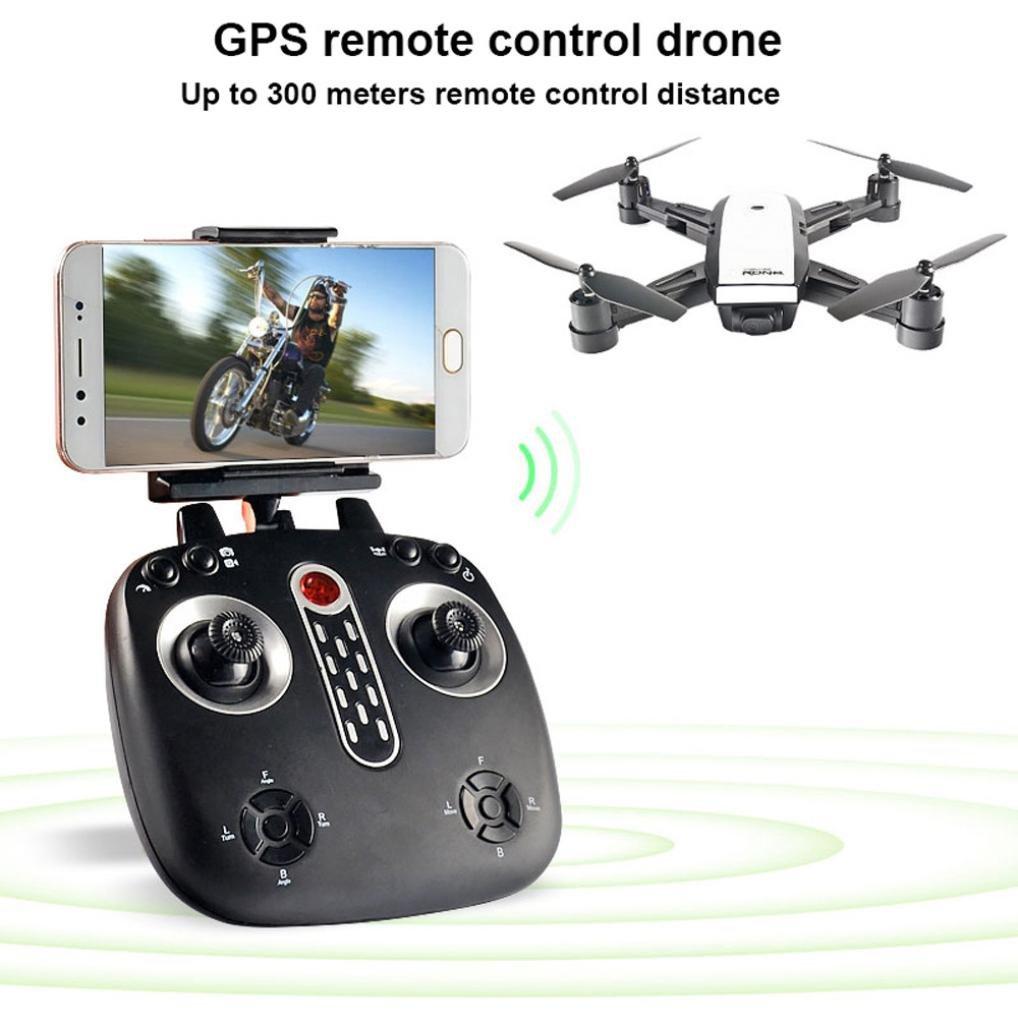 Bescita LH-X28GWF Dual GPS FPV Drohne Quadcopter mit 1080P HD Kamera, One Key Return, Wifi-Steuerung, Headless Modus Helicoper mit LED-Licht