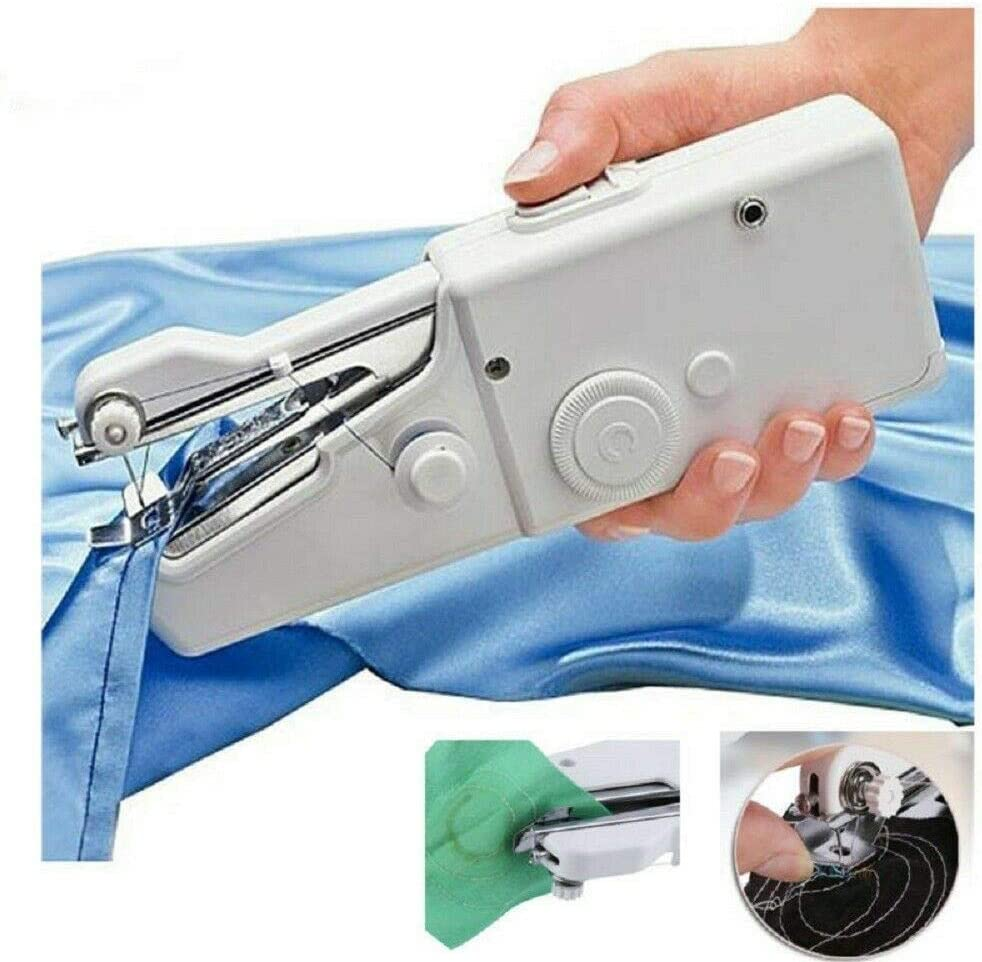 Máquina de coser portátil portátil Mini Smart Tailor Stitch Máquina de coser portátil (Versión recargable)