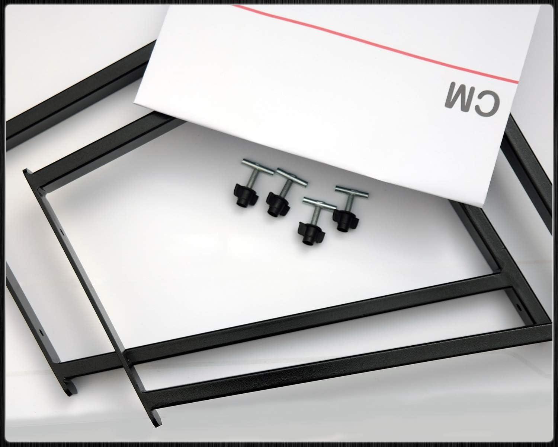 Bremer SitzbezÜge Multiflexboard Konsolen Kompatibel Mit T5 T6 Multivan Pulverbeschichtet Schwarz Höhe 51cm Auto
