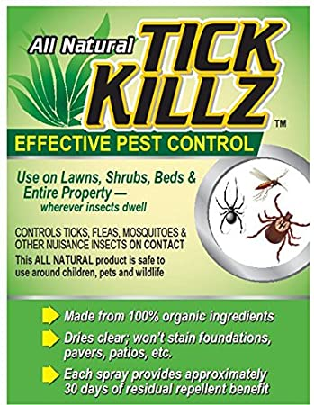 Tick Killz All Natural Bug Killer Insect Repellent Pest Control Concentrate  64 Ounce