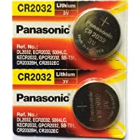 for Accu-Chek Battery Panasonic CR2032 3V Coin Cell (Silver) - Pack of 2