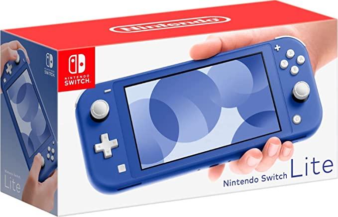 Nintendo Switch Lite - Azul | Amazon.com.br