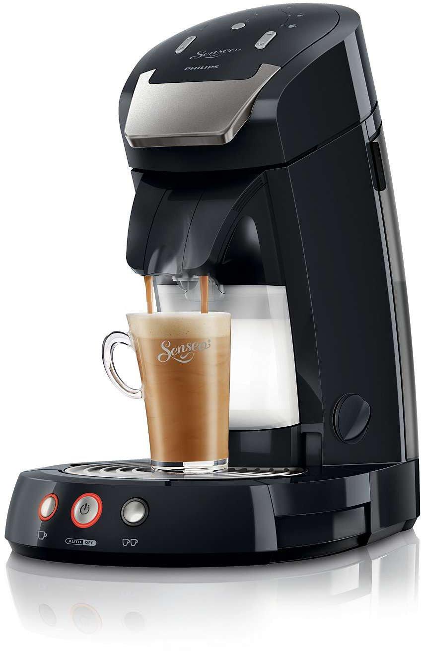 Philips Senseo Latte Select - Cafetera monodosis, color negro: Amazon.es: Hogar