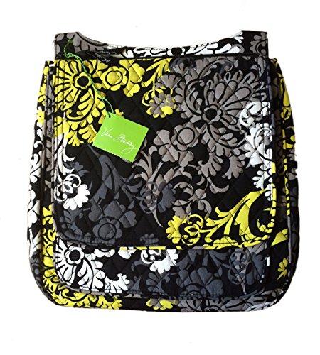 Baroque Bag (Vera Bradley Mailbag Cross-body in Baroque with Solid Black Interior)