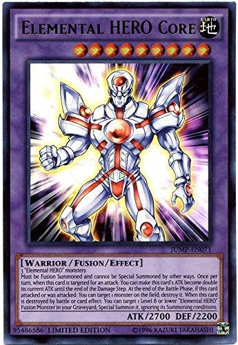 Yu-Gi-Oh Shonen Jump Single Card Ultra Rare Elemental HERO Core JUMP-EN071