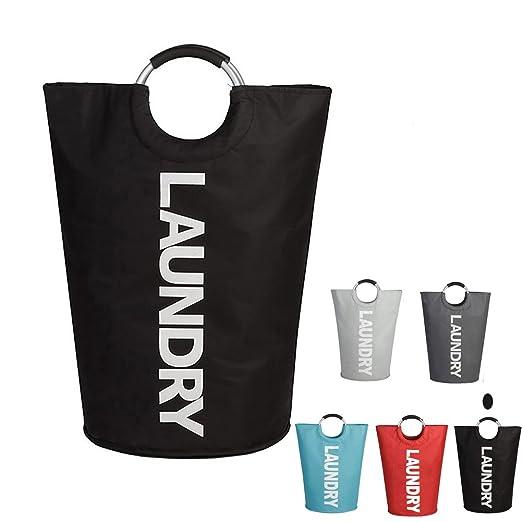 buycitky plegable grande aleación de cesta para la ropa sucia (con ...