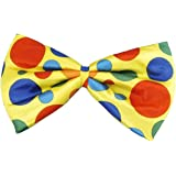 Forum Novelties Polka Dot Clown Bowtie