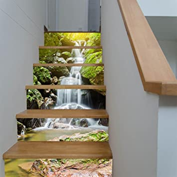 Yyh Kreativ Elegant Haus Renovierung 3d Diy Alpiner Wasserfall