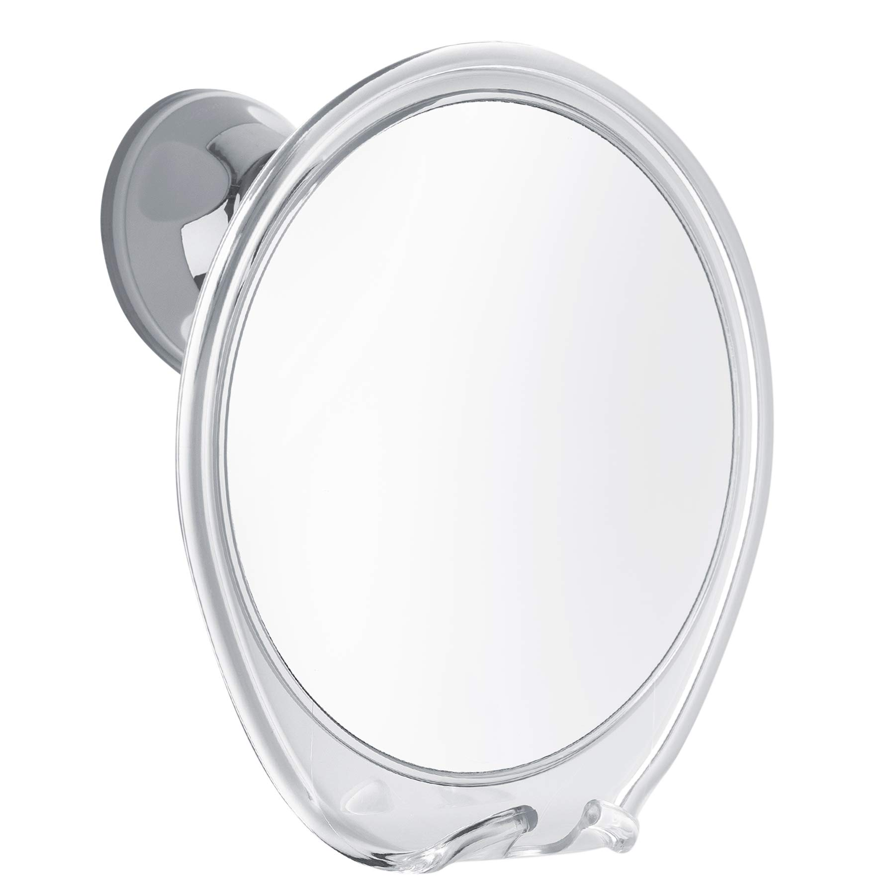 Fogless Shower Mirror with Razor Hook for A Perfect No Fog Shaving, 360 Degree Rotating for Easy Mirrors Viewing, Strong Power Lock Suction Cup Will Not Fall, Ideal for Home and Traveling. by ProBeautify