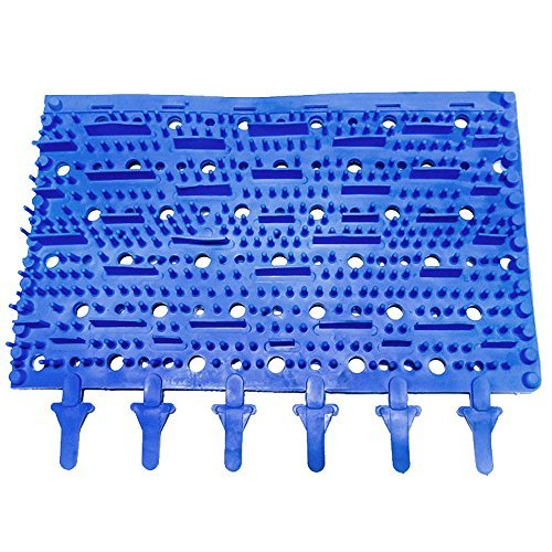Replacement Aquabot Robotic Pool Cleaner Blue Molded Rubber Brush - 3002B by Aqua Products