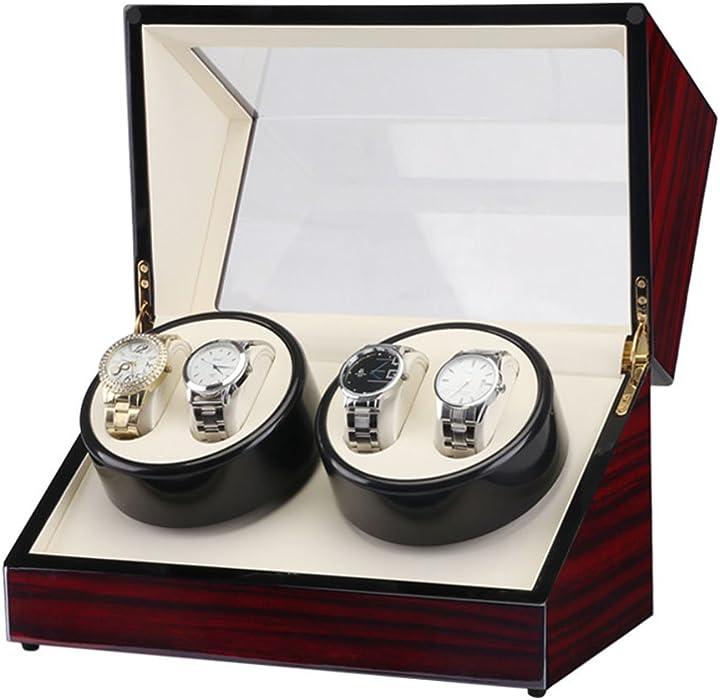 Jia He Caja de Reloj - Caja automática de Almacenamiento de Joyas Shaker Caja de Reloj Reloj Caja de exhibición Gabinete de exhibición Cajas para Relojes