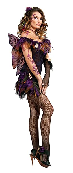 Amazon.com: Rubie s Costume Co Adult Night Shade Hada ...