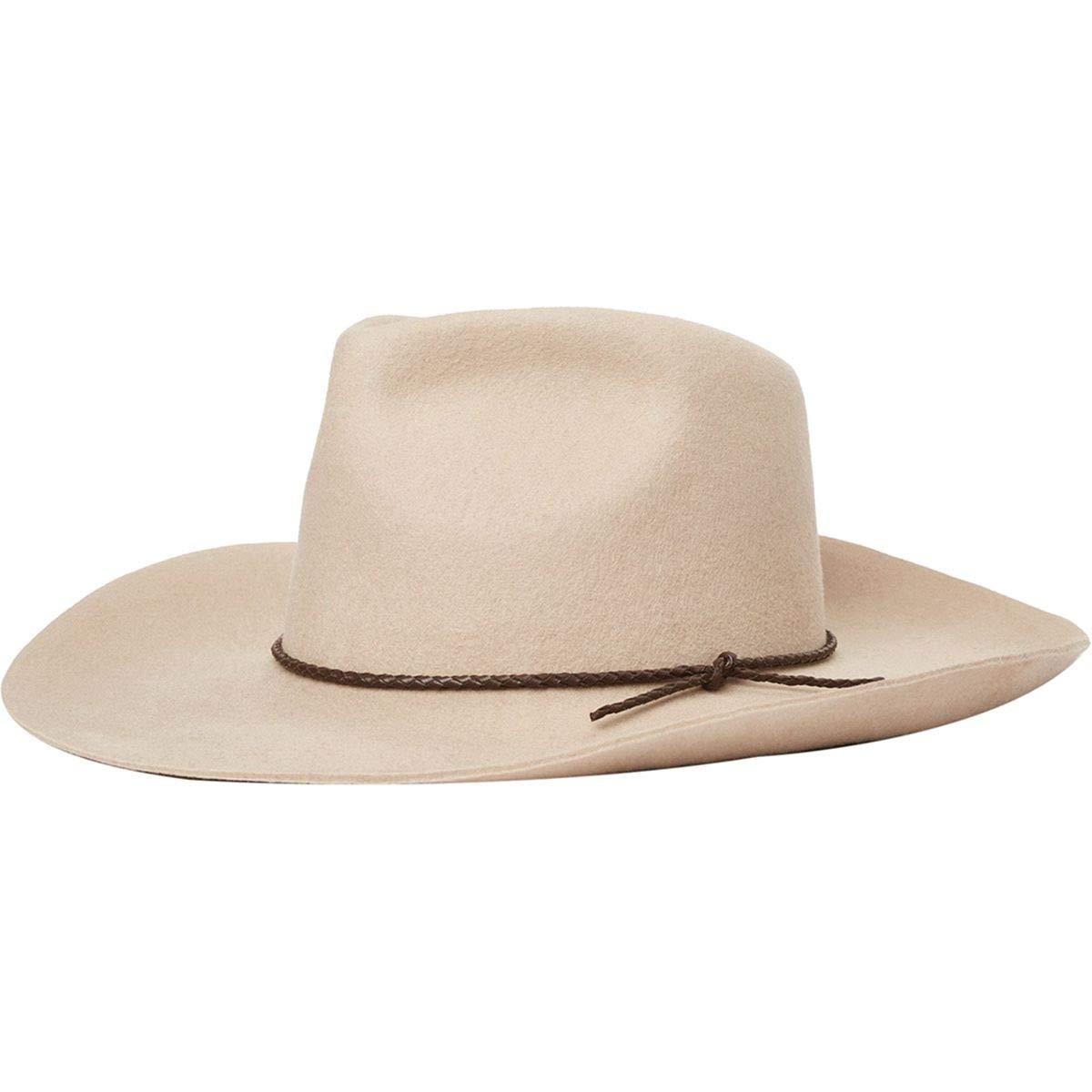 Brixton Jenkins Cowboy Hat Vanilla, XL by Brixton