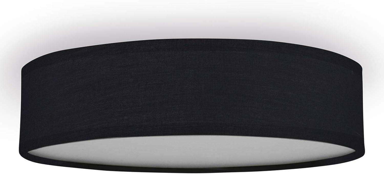 Smartwares Plafón Mia 6000.543 de Ranex, 40 cm, Negro: Amazon.es ...