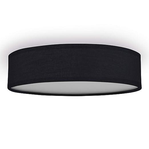 Plafón Mia 6000.543 de Ranex, 40 cm, Negro
