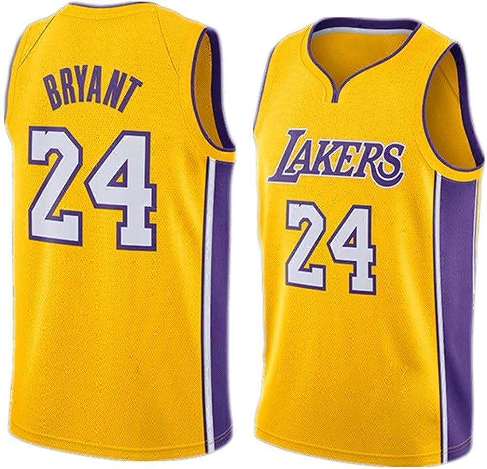 Ceonam Camiseta de Baloncesto para Hombre, NBA, Los Angeles Lakers #8#24 Kobe Bryant. Bordado Swingman Transpirable y Resistente al Desgaste Camiseta para Fan: Amazon.es: Ropa y accesorios