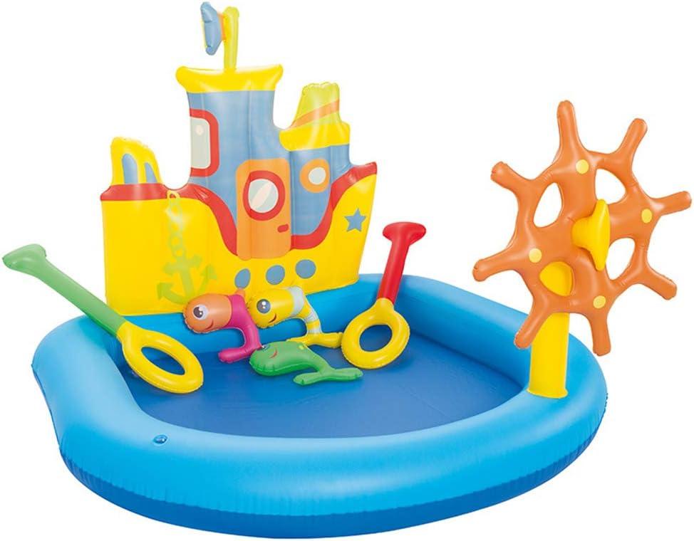 QXM Piscina para niños de cruceros Piscina para niños,Blue