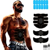 Abs Muscle Stimulator - Abdominal Toner- Belt Body Workout Training Gear Fitness Equipment - Fitness Gear for Men Women…