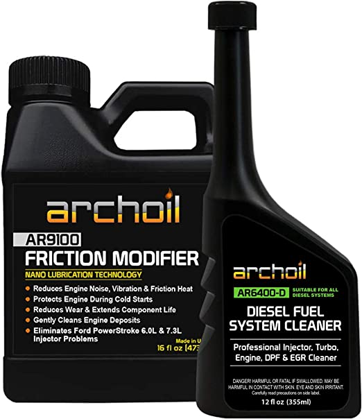 Amazon Com Archoil Ar9100 Friction Modifier Ar6400 D Diesel Fuel System Cleaner Automotive