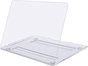MOSISO MacBook Pro 13 inch Case 2020 2019 2018 2017 2016 Release A2289 A2251 A2159 A1989 A1706 A1708, Plastic Hard Shell Case Compatible with MacBook Pro 13 inch with/Without Touch Bar, Crystal Clear