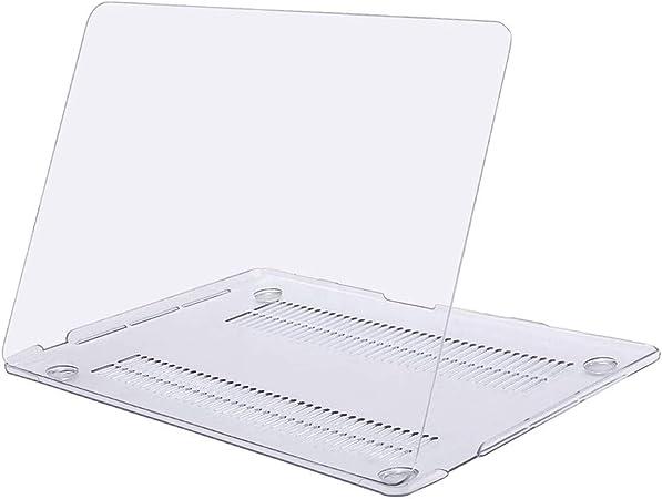 MOSISO H/ülle Kompatibel mit 2020 2019 2018 2017 2016 MacBook Pro 13 Zoll A2338 M1 A2251 A2289 A2159 A1989 A1706 A1708,Plastik Schutzh/ülle Hartschale /& Tastaturschutz /& Typ C Adapter Serenity Blau