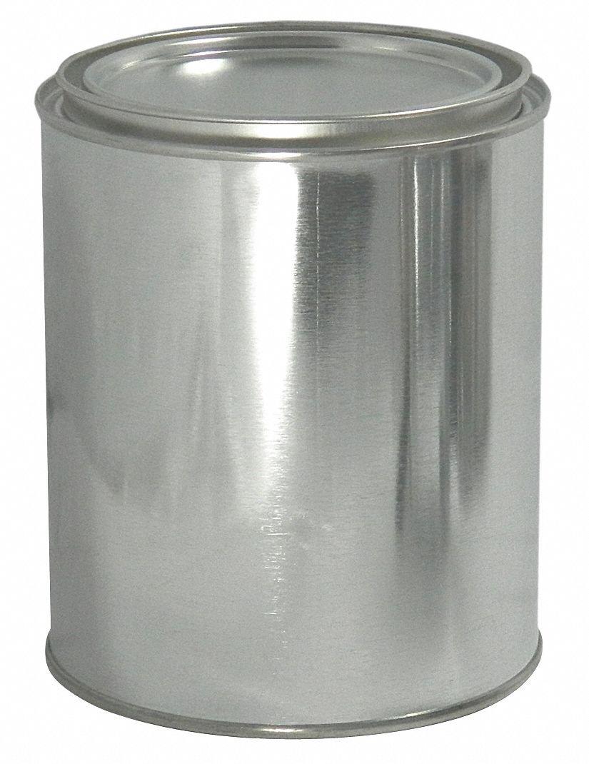 Metal Can, 1/2 pt, Round, PK340