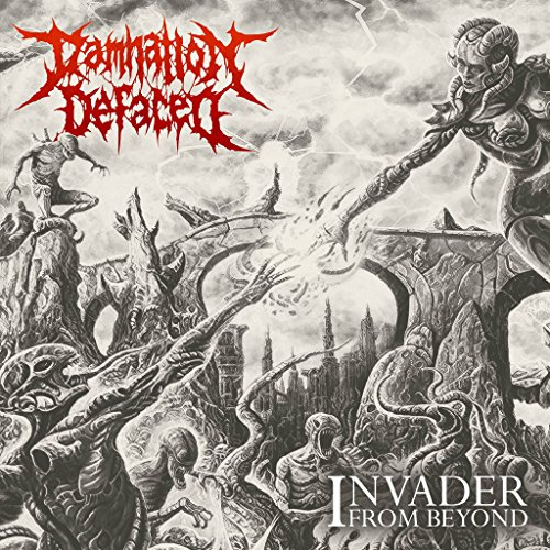 CD : Damnation Defaced - Invader From Beyond (CD)
