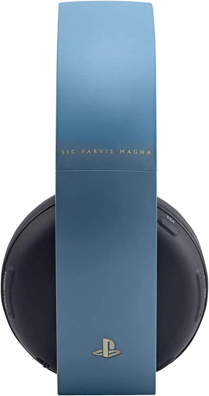 Amazon.com: PlayStation Gold Wireless Headset - Uncharted 4 Limited ...