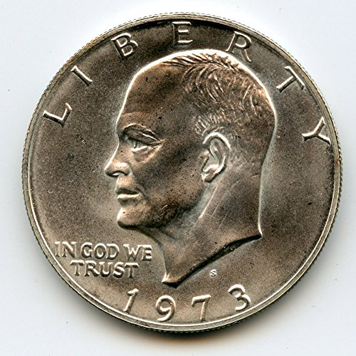 1973 S Eisenhower Dollar MS-66