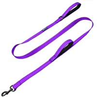Max and Neo 4 FT Double Handle Traffic Dog Leash Reflective