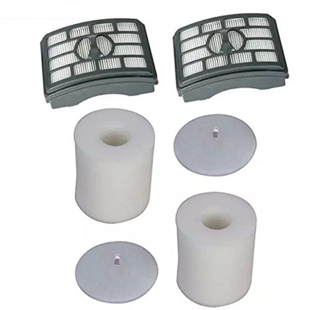 EcoMaid Accessories For Shark Rotator Pro Lift-Away NV500 NV501 NV505 NV552 HEPA Filter & Foam Filter Kit, Part # XFH500 & XFF500