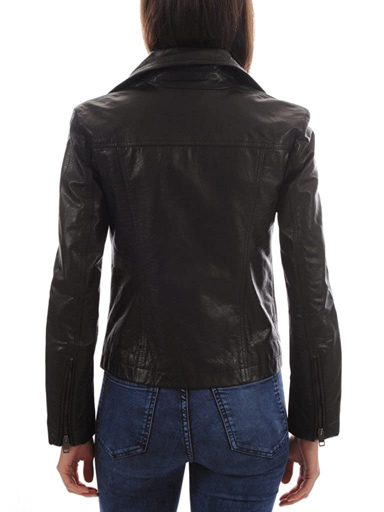 Extremely Soft /& Smooth Leather Lovers Womens Lambskin Leather Bomber Biker Jacket Winter Wear
