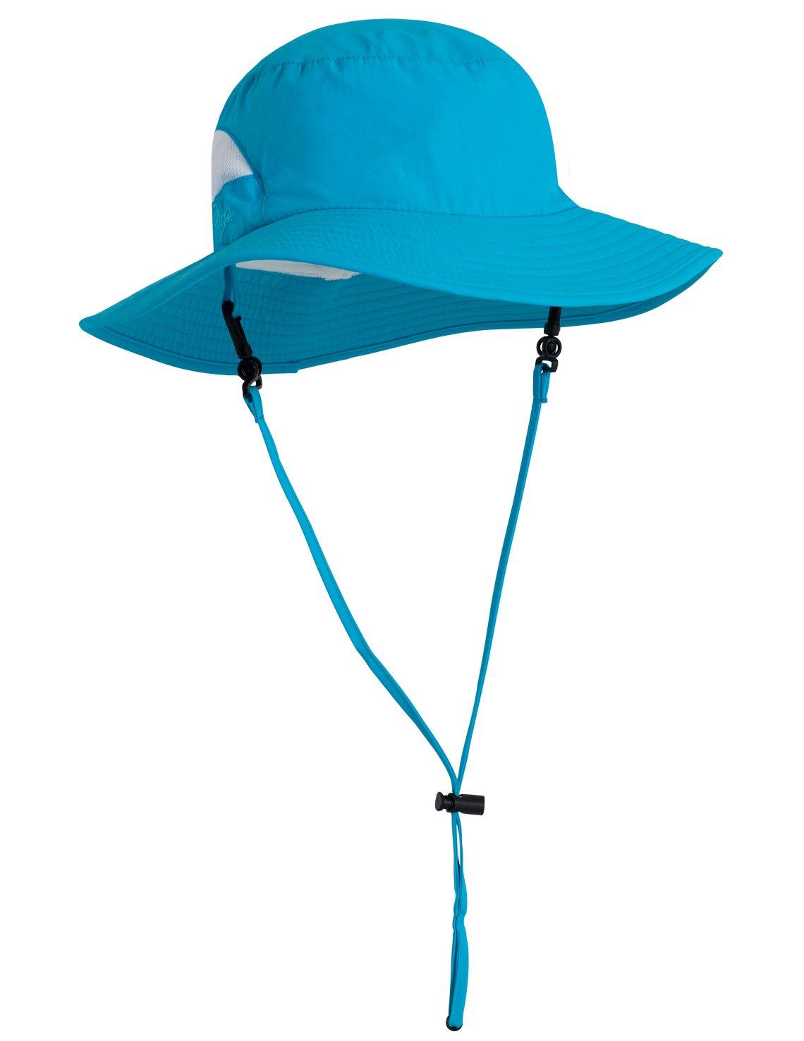 Tuga Adult Playa Bucket Hat (UPF 50+), Aqua, One Size