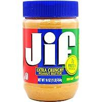 JIF 积富 花生酱(颗粒型)455g(美国进口)