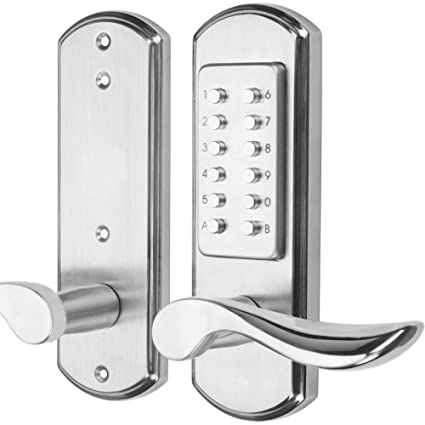 Superbe Right Handed Keyless Mechanical Door Lock Digital Code Security Keypad  Entry Combination Door Handle Locks Stainless