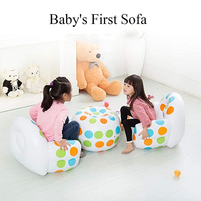 EFGS Portátil Mini Sofa Hinchable, Seguridad Flocado ...
