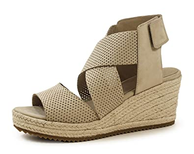 df99f8ba4431 Image Unavailable. Image not available for. Color  Eileen Fisher Lino Nubuck  Willow 2 Wedge