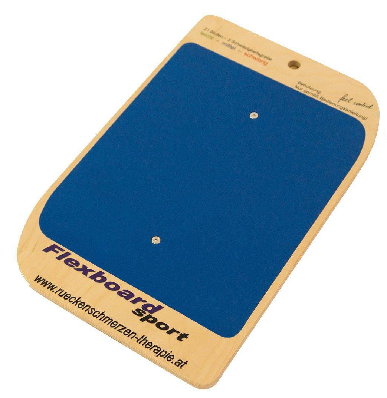 Flexboard Sport Balancegerät, Blau, 62 x 40 x 8 cm
