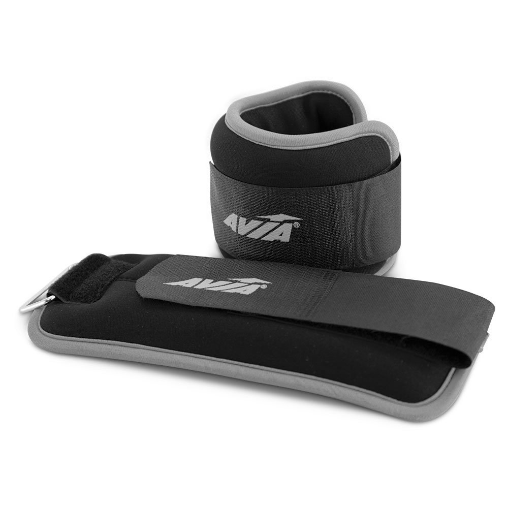 AVIA Fitness 2 lb. Ankle Weights - Grey (Available in more Colors) OPEN BOX by Avia