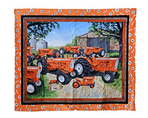Allis Chalmers Tractors Baby Quilt or Wall Hanging