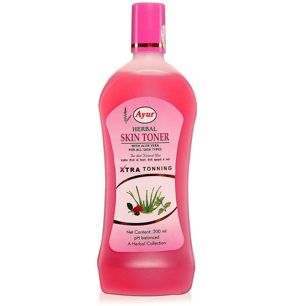 how to use ayur herbal skin toner