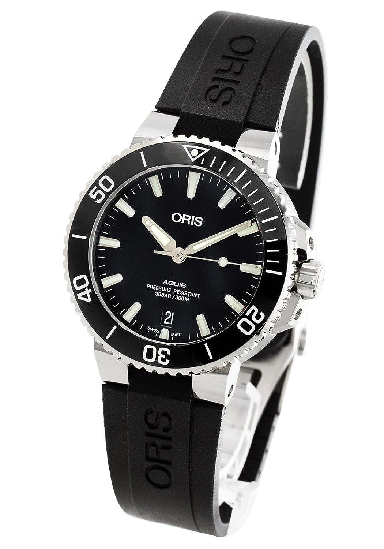 オリス アクイス デイト 300m防水 腕時計 メンズ ORIS 733 7732 4134R[並行輸入品] B07F3SK2TQ