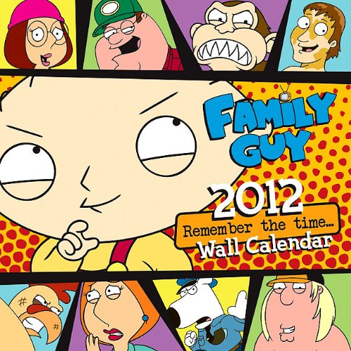 Download 2012 Family Guy- Remember The Time 16 Month Wall  calendar pdf