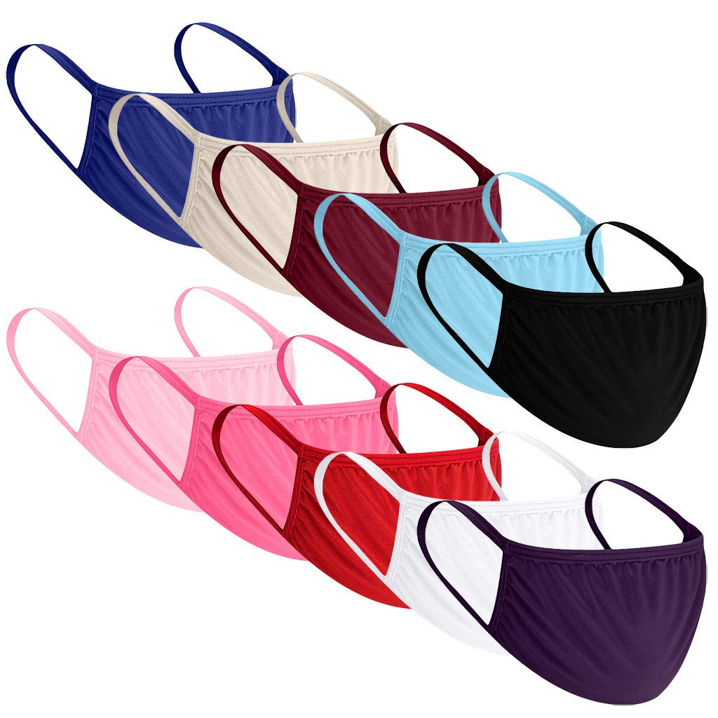 Cycling Breathable Printing Face Мas/κ Reusable Anti-Haze Dust Adults Face Bandanas Washable Cloth Covering Breathable Windproof Mouth Cloth 1pc