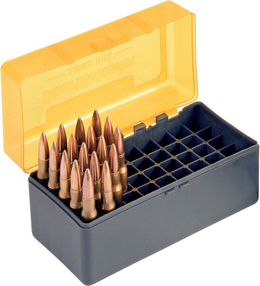 Smartreloader - Modelo 7 - Caja para municiones, capacidad para 50 cartuchos de varios calibres (223Remington por ejemplo) VBSR615