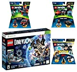 Lego Dimensions Demolition Starter Pack + Mission Impossible Level Pack + A-Team Fun Pack + Knight Rider Fun Pack for Xbox 360 Console