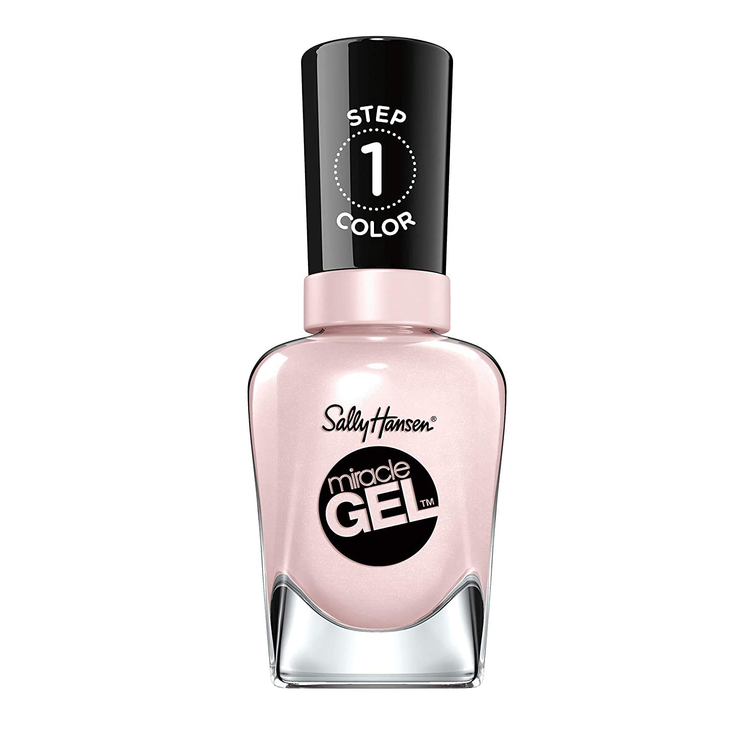 Sally Hansen Miracle Gel Nail Polish, Creme de La Creme, 0.5 Ounce