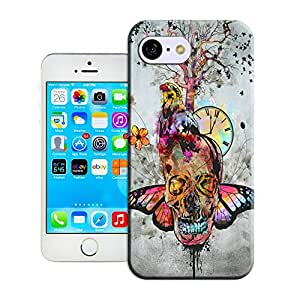 BreathePattern-419.Skull,Bird,Butterfly Mixed Pattern Plastic Protective Case-Apple iPhone 5c case